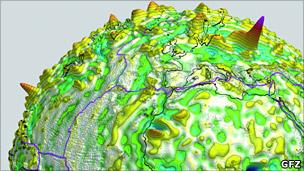Data of magnetism in Earth's rocks (GFZ)