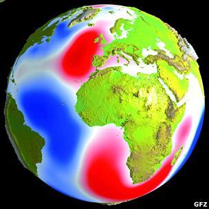 Magnetic signature of the tides (GFZ)