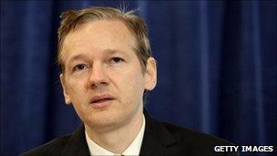 Julian Assange (pic: Oct 23)