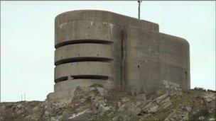 German Occupation bunker in Alderney