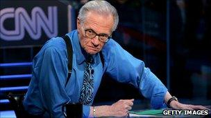 File photograph of Larry King