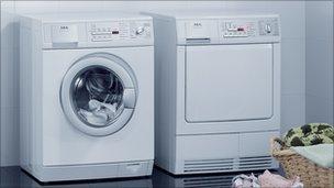 Electrolux washing machine and tumble dryer