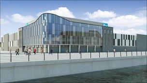 ITV's new production base on Salford Quays