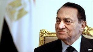 President Mubarak of Egypt