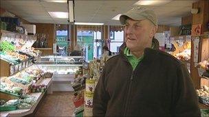 Greengrocer Bill Lightfoot