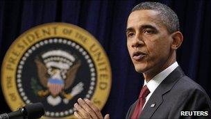President Barack Obama. Photo: December 2010