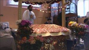Sikh temple in Bristol