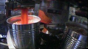 Heinz factory in Wigan
