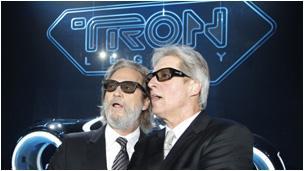 Jeff Bridges and Bruce Boxleitner