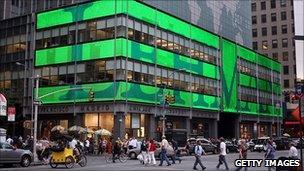 Lehman's old headquarters