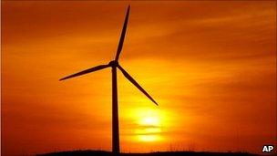 Wind farm China