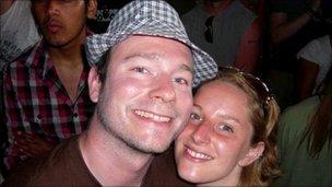 Greg Reardon and Joanna Yeates