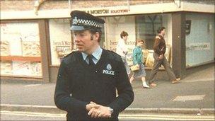 Martin Starr in the 1970s