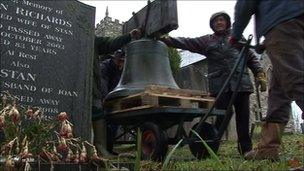 Bell from All Saints Church