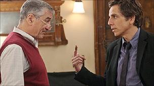 Robert De Niro and Ben Stiller in Little Fockers