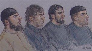 The defendants from Stoke-on-Trent