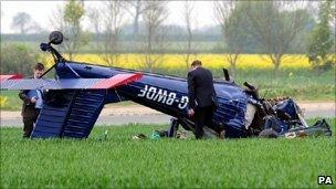 Nigel Farage's plane crash