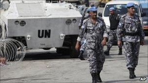 UN troops in Ivory Coast