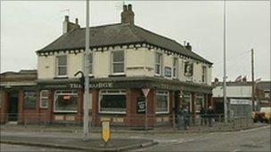The George bar