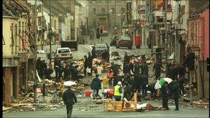 The 1998 explosion killed 29 people and unborn twins