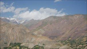 View of Badakhshan region in Pamir mountains (Image: Sohrab Zia)
