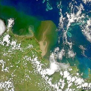 Satellite image from Nasa's