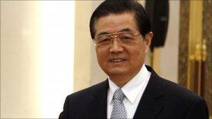 Hu Jintao, December 2010