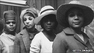 Bonnet parade in Harlem, 1965