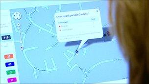 Y wefan mapio troseddau