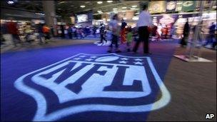 The NFL Experience show in Dallas