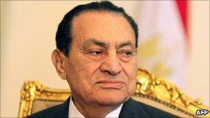 Egyptian President Hosni Mubarak. Photo: 8 February 2011
