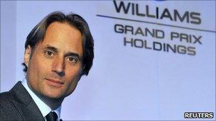 Williams Grand Prix Holdings chairman Adam Parr