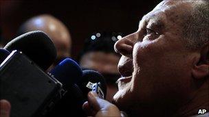 Ahmed Aboul Gheit (Pic: Jan 2011)