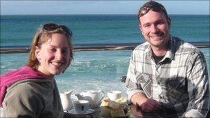 Jo Yeates with her boyfriend Greg Reardon