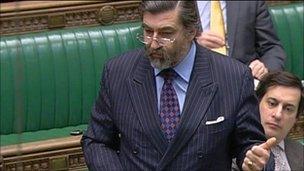 John Thurso in the Commons