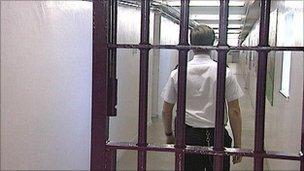 prison interior generic