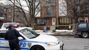 Maksim Gelman's house in Brooklyn, NY 12 February 2011