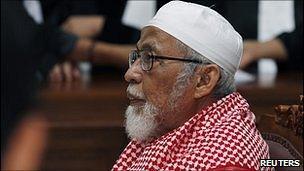 Abu Bakar Ba'asyir in court, 14 February 2011