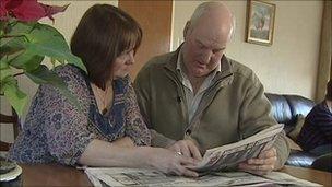 lawrence wilson - cork air crash survivor and his wife