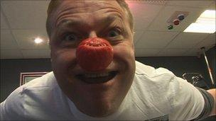 Paul Stainton for Comic Relief 2011
