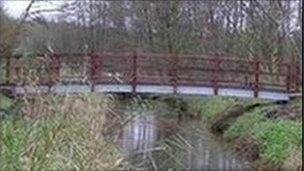 Bridge built in 2005