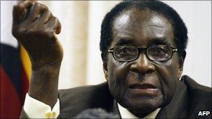 Robert Mugabe - 23 December 2009