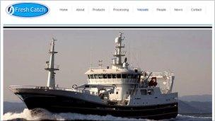 Fresh Catch website