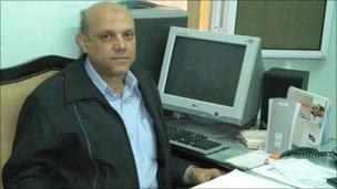 Farouk Hospital director, Magdi Ahmed Abdel Aziz