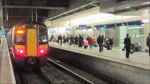 St Pancras International Thameslink station