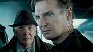 Frank Langella and Liam Neeson in Unknown