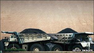 BHP trucks
