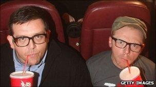 Paul stars Nick Frost and Simon Pegg
