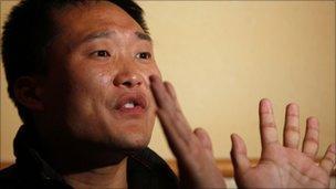 Jia Jingchuan, a worker for Wintek