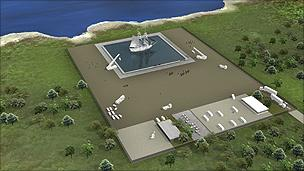 Image of proposed Pinewood Indomina Studios